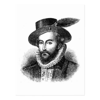 sir-Gualterio-raleigh Postales