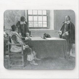 Sir Guillermo Berkeley Surrendering Tapete De Ratones