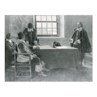 Sir Guillermo Berkeley Surrendering Postal