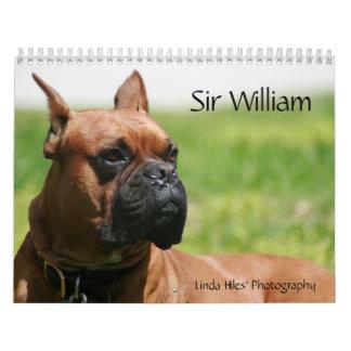 Sir Guillermo Calendar Calendarios De Pared