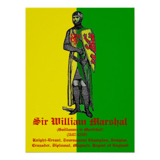 Sir Guillermo Marshal Poster