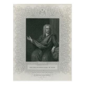 Sir Guillermo Pulteney, conde del baño Tarjetas Postales