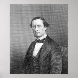 Sir Guillermo Sterndale Bennett, 1844 Póster