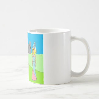 Sir Gullible & Princess Gertrude (castle) Coffee Mugs