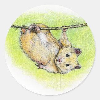 Sir Ham Classic Round Sticker
