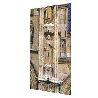 Sir Henry 'Hotspur Percy, en la fachada del oeste Impresión En Lona Estirada