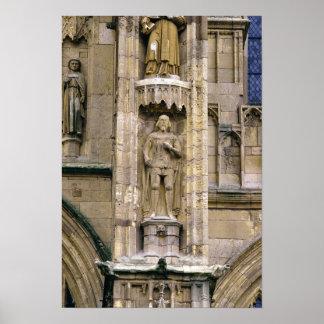 Sir Henry 'Hotspur Percy, en la fachada del oeste Posters