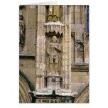 Sir Henry 'Hotspur Percy, en la fachada del oeste Tarjeta De Felicitación