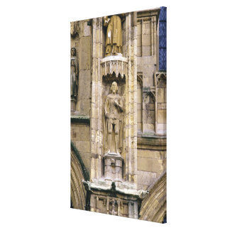 Sir Henry 'Hotspur Percy, on the west facade Gallery Wrap Canvas
