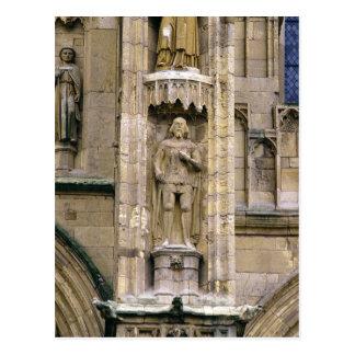 Sir Henry 'Hotspur Percy, on the west facade Postcard