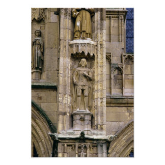 Sir Henry 'Hotspur Percy, on the west facade Print