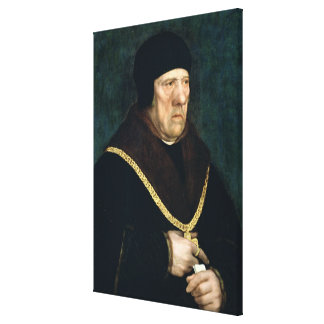 Sir Henry Wyatt  sometimes called Milord Cromwell Canvas Print