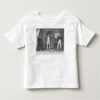 Sir Hudson Lowe comming in the study of Napoleon Toddler T-shirt