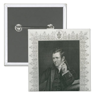 Sir Humphry Davy Pinback Buttons