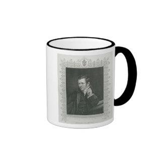 Sir Humphry Davy Ringer Coffee Mug