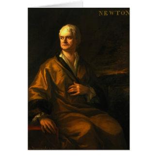 Sir Isaac Newton, 1710 Card