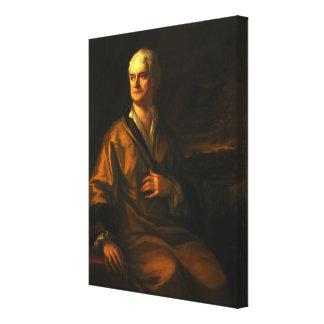 Sir Isaac Newton, 1710 Lienzo Envuelto Para Galerias