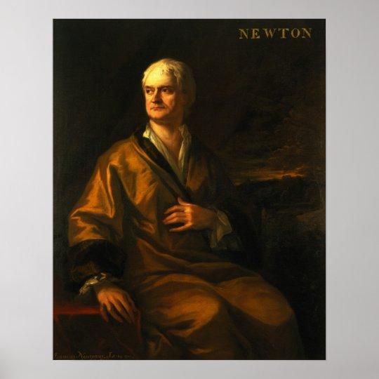 Sir Isaac Newton, 1710 Poster