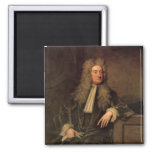 Sir Isaac Newton 2 Inch Square Magnet