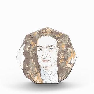Sir Isaac Newton Acrylic Award