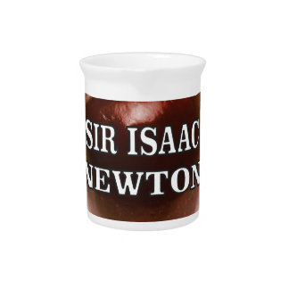 sir isaac newton apple beverage pitcher