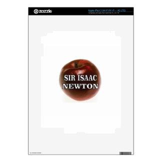 sir isaac newton apple skin for iPad 3