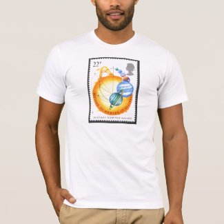 Sir Isaac Newton bodies in motion T-Shirt