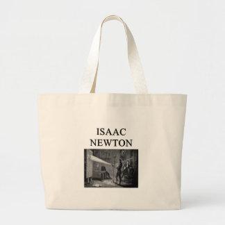 sir Isaac Newton Bolsas De Mano