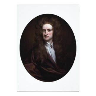 Sir Isaac Newton by Godfrey Kneller 1702 Card