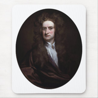 Sir Isaac Newton by Godfrey Kneller 1702 Mouse Pad