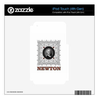 sir isaac newton decals for iPod touch 4G