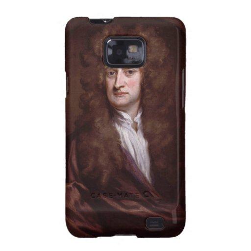 Sir Isaac Newton del retrato de sir Godfrey Galaxy S2 Carcasa