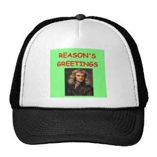 sir Isaac Newton Gorras