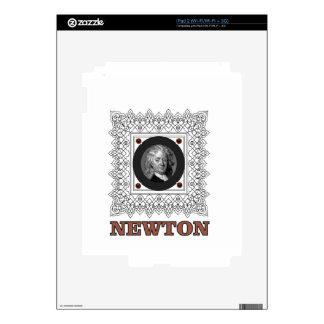 sir isaac newton iPad 2 decal
