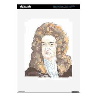Sir Isaac Newton iPad 3 Skin