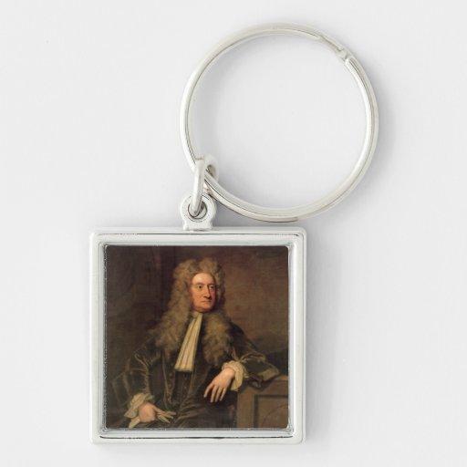 Sir Isaac Newton Keychains