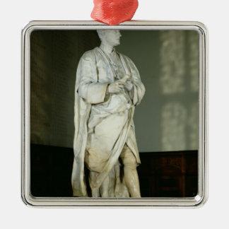 Sir Isaac Newton Metal Ornament