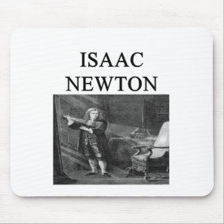 sir isaac newton mouse pad