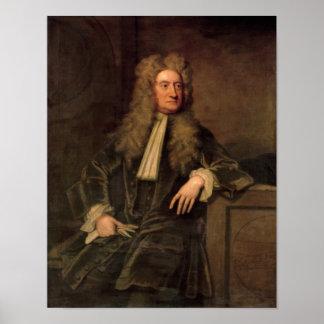 Sir Isaac Newton Póster