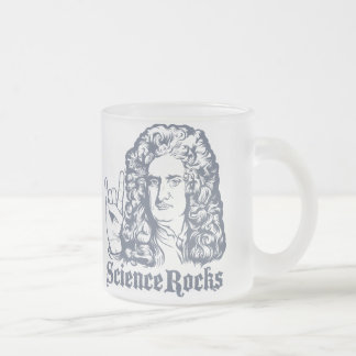 Sir Isaac Newton Science Rocks Mugs