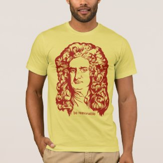 Sir Isaac Newton Shirts