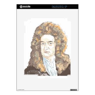 Sir Isaac Newton Skin For The iPad 2