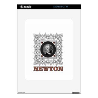 sir isaac newton skins for iPad