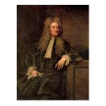 Sir Isaac Newton Tarjeta Postal