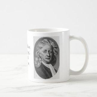 Sir Isaac Newton Taza De Café