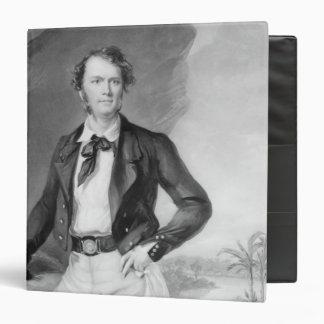"""Sir James Brooke Rajah de Sarawak, 1847 Carpeta 1 1/2"""""""