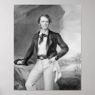 Sir James Brooke  Rajah of Sarawak, 1847 Poster