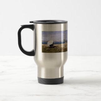 Sir James Guthrie - Hard at it Travel Mug
