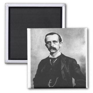 Sir James Matthew Barrie 2 Inch Square Magnet