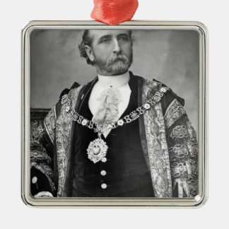 Sir James Whitehead, Lord Mayor of London Metal Ornament